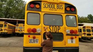 Ohio ODE school bus  pretrip blue bird bus