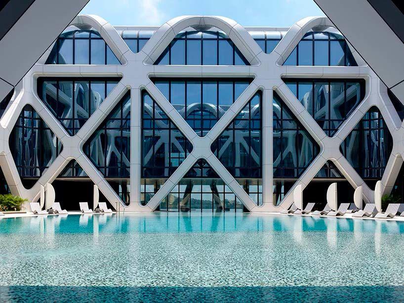 Отель Morpheus от Zaha Hadid Architects в Макао