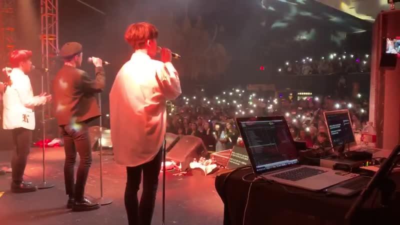 FANCAM | 151219 | A.C.E - 5tar @ UC: AREA US in Dallas Concert