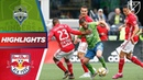 Seattle Sounders FC vs New York Red Bulls Late Goals AND Early Goals HIGHLIGHTS