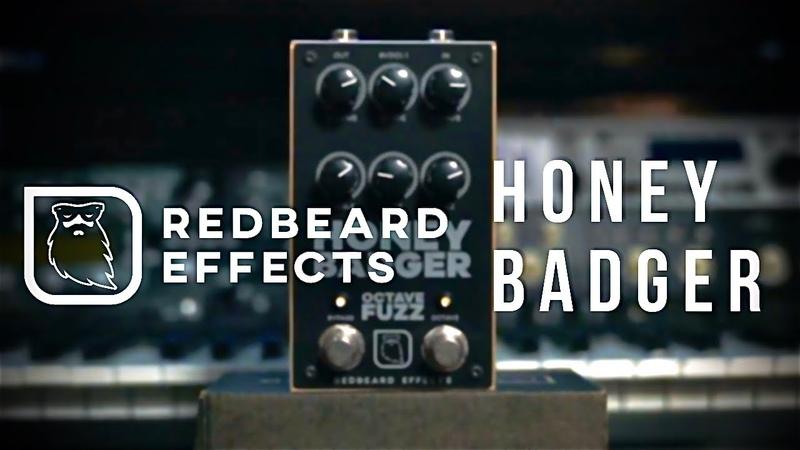 Bring The Gnarl Redbeard Effects Honey Badger Octave Fuzz