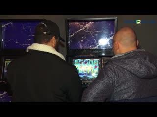 Пензенская полиция опубликовала видео из нелегального игрового клуба