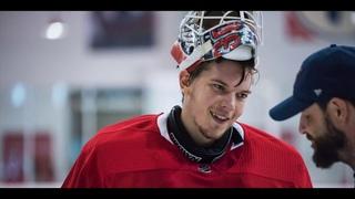 Русский вратарь-сенсация в НХЛ - еще одна победа! / Самсонов - о кумире Овечкине