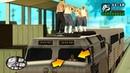 Что будет, если УГНАТЬ ПОЕЗД и СПАСТИ ВАГОСОВ на миссии Не по ту сторону рельс в GTA SA !