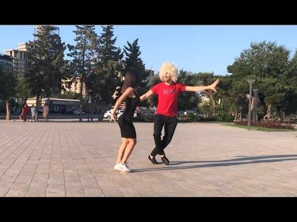 Девушка Танцует Невероятно Красиво В Баку С Парнями 2019 Лезгинка ALISHKA NELYA ELVIN SHAHIN