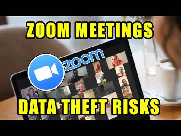 Zoom meetings data theft risks how to secure from crashers