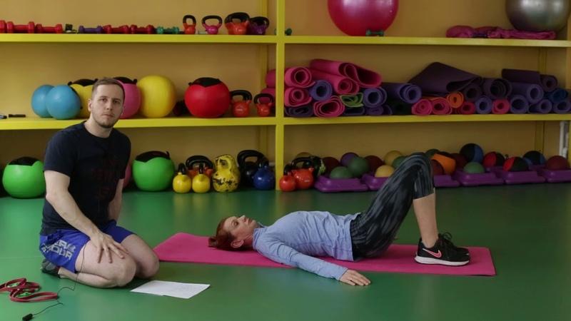 Силовая тренировка в острый период грыжи