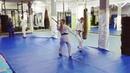 Тренировка с дзё