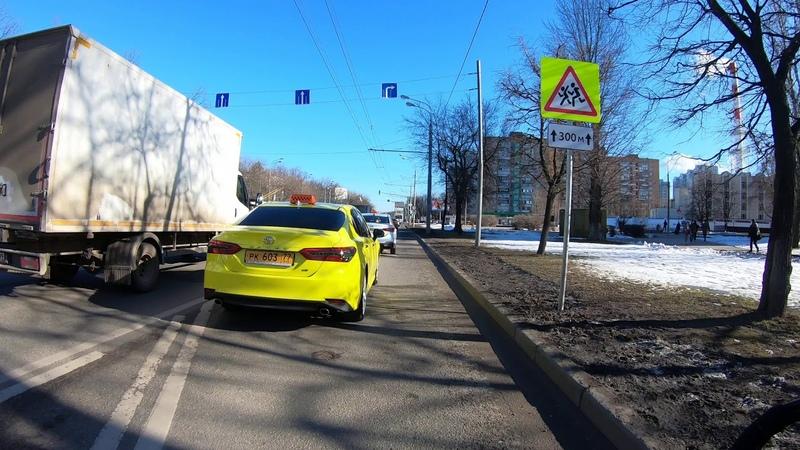 На элетросамокате Speed Savage Нахимовский проспект азовская улица Одесская улица