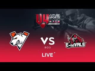 Vp vs e-rivals, bo3. v4future sport festival budapest 2019