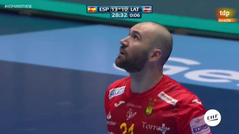 Campeonato de Europa Masculino España Letonia