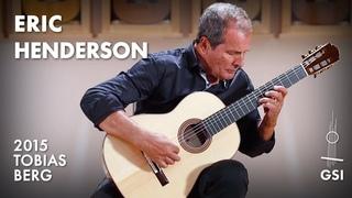 "J.S. Bach's ""Lute Suite, BWV 996: Präludium: Presto"" played by Eric Henderson on a 2015 Tobias Berg"