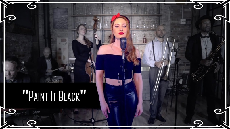 """""""Paint It Black"""" (The Rolling Stones) Amy WinehouseBack to Black Cover by Robyn Adele Anderson"""