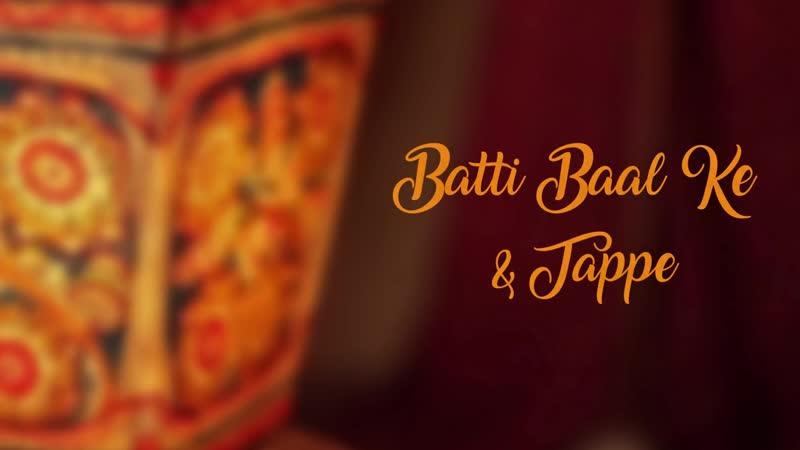 Maanya Arora Batti baal ke Tappe ¦ Punjabi Folk Mashup