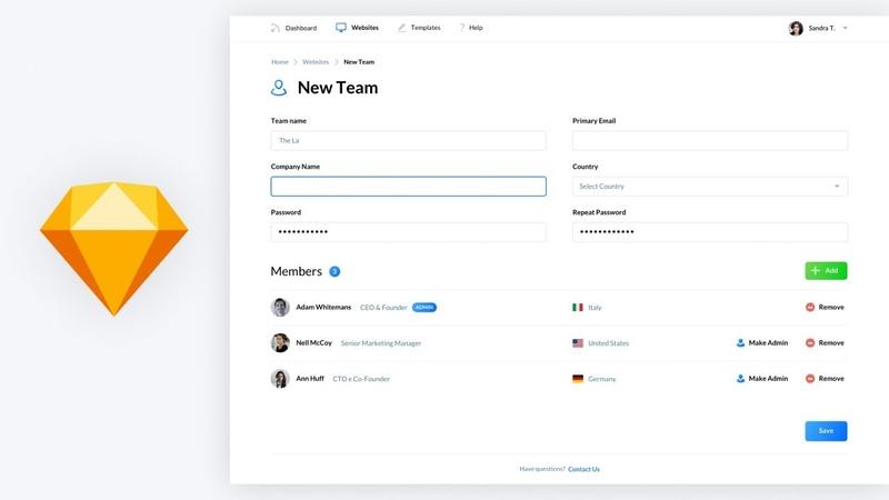 Web App UI Design Sketch Tutorial for Beginners
