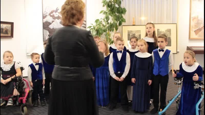 Робин Бобин Барабек Младший хор Cantica 30 ноя 2019