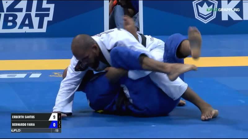 Erberth Santos vs Bernardo Faria IBJJF 2017 World Championships
