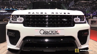 2016 Range Rover Caractere Exclusive - Exterior Walkaround - 2016 Geneva Motor Show