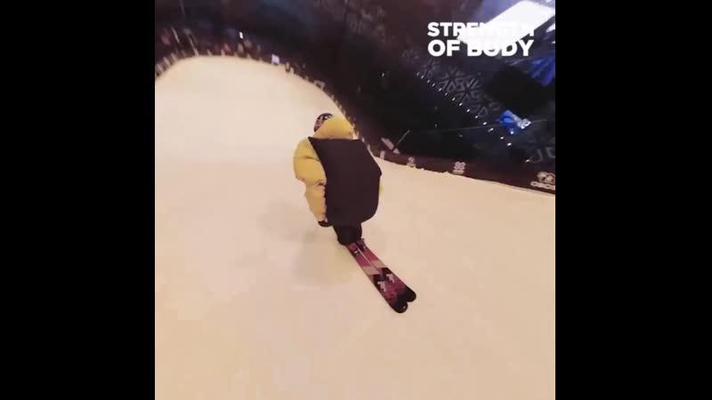 Сальто на лыжах, на камеру 360 градусов 🔥 cfkmnj yf ksf[, yf rfvthe 360 uhflecjd 🔥