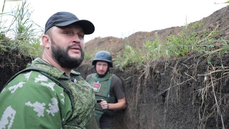 Витязи ДНР. Экскурсия с командиром спецназа по Жабунькам