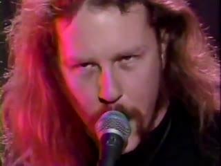 Metallica - Wherever I May Roam - The 20th American Music Awards 1993