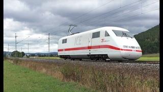 ICE 1 Triebkopf, ÖBB Feuerwehr Taurus, V100 mit Schneepflug, TXL uvm. auf der Frankenwaldbahn
