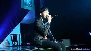 Bie Playboy's night Concert LIVE : แววตา (22-12-12)