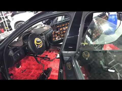 BMW 3 Series Gran Turismo шумоизоляция Сделали без следов разбора салона материалы Комфортмат