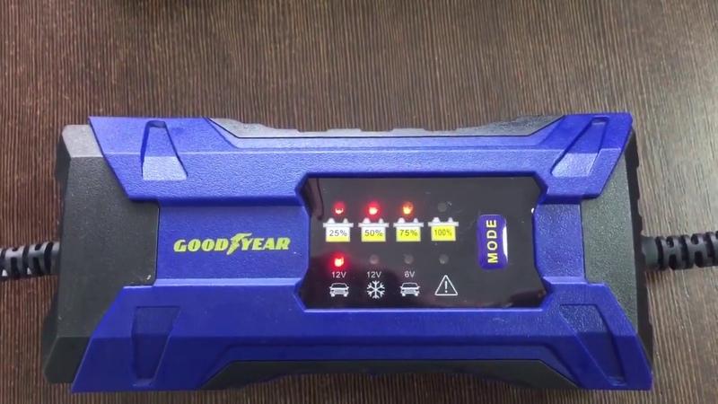 Автомобильные зарядные устройства Goodyear