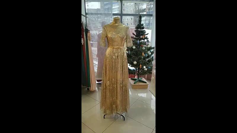 Красивое сияющее платье ☀️☀️☀️