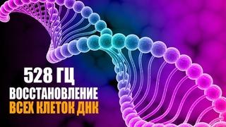 528 гц Реконструкция и Восстановление Всех Клеток ДНК | Лечебная Космическая Музыка