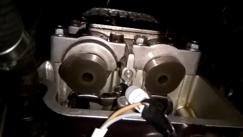 Vulcan 750 camshaft front cylinder on start with ignition led
