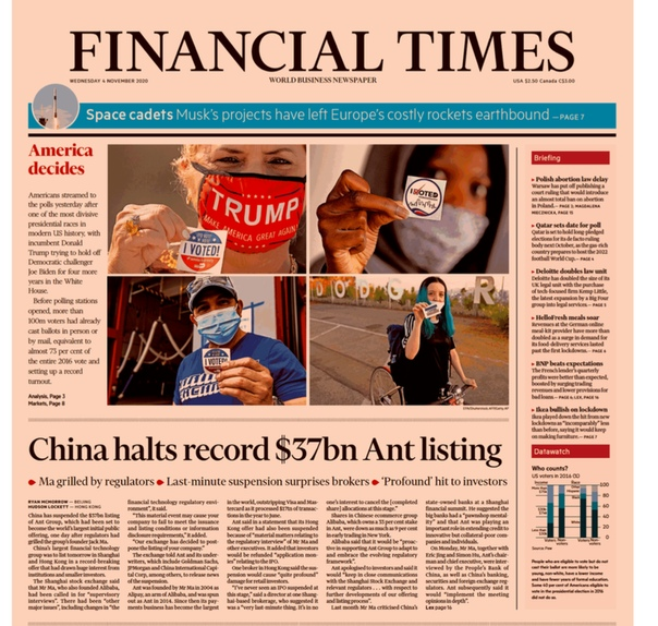 Financial Times USA - November 04  2020 UserUpload.Net