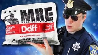 ОБЗОР ИРП Полиции США!! Обед офицера.