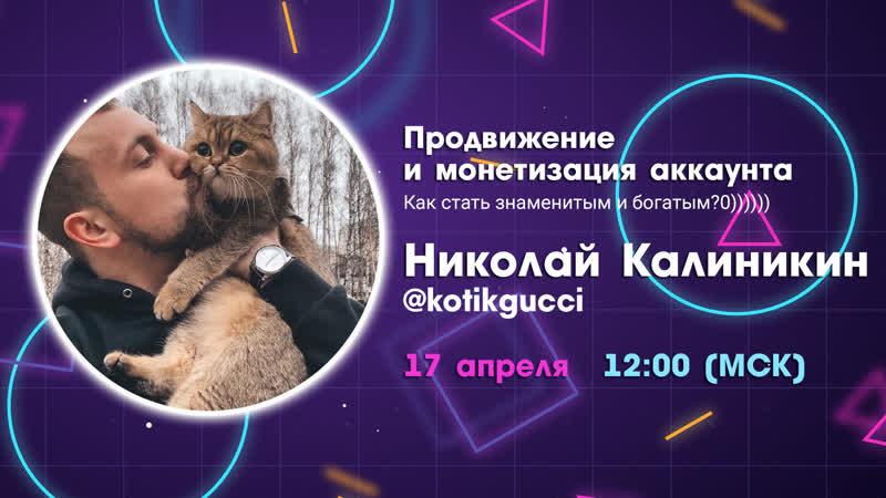 Вебинар от Николая Калиникина Как стать богатым и знаменитым