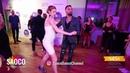 Talal Benlahsen and Lisa Marie Salsa Dancing at El Sol Warsaw Salsa Festival, Sunday 11.11.2018
