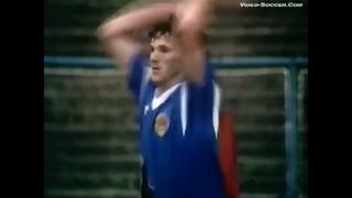 . Финал молодежного Евро-1990. 1 матч. Сараево. Югославия - СССР 2-4 (весь матч)