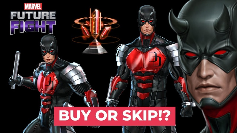 Daredevil New uniform first look Corvus and Proxima 99 Clears Marvel Future Fight