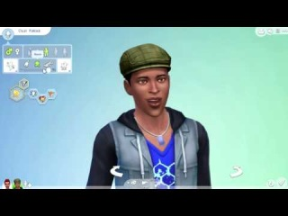 The Sims 4 Create a Sim  - Voice Types