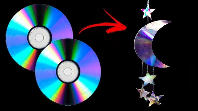 ARTESANATO COM CD E DVD IDEIAS INCRÍVEIS COM CD IDER ALVES