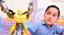 Transformers oyunları Bumblebee kendine değişik bir enerji yüklüyor