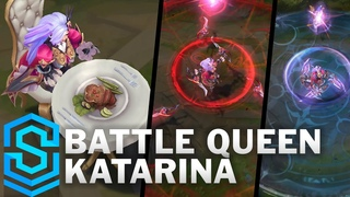Battle Queen Katarina Skin Spotlight - Pre-Release - League of Legends