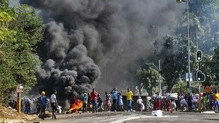 Protest and Casualty in South Africa --- Prophecy fulfilled