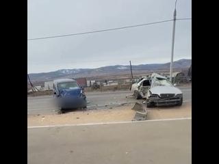 """Водитель """"Тойоты"""" погиб на трассе в  Бурятии"""