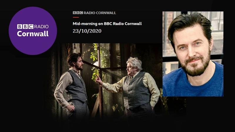 Ричард Армитидж в эфире BBC Radio Cornwall