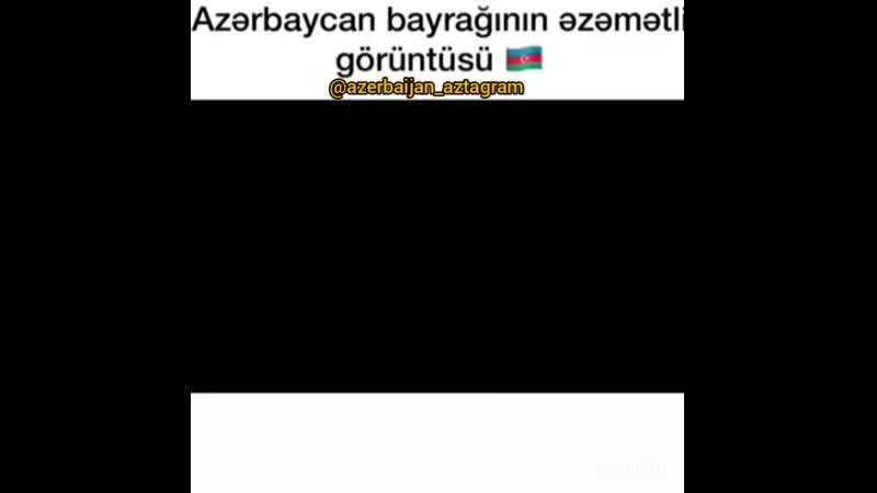 Azerbaycanda 5 km 100 m uzunluqda dovlet bayraqi hazirlanib Bayrağı irelide generallar ve zabirler olmaqla 5000 nefer heyät da
