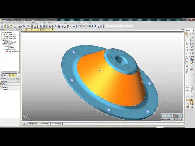Edgecam Part Modeler Revolve
