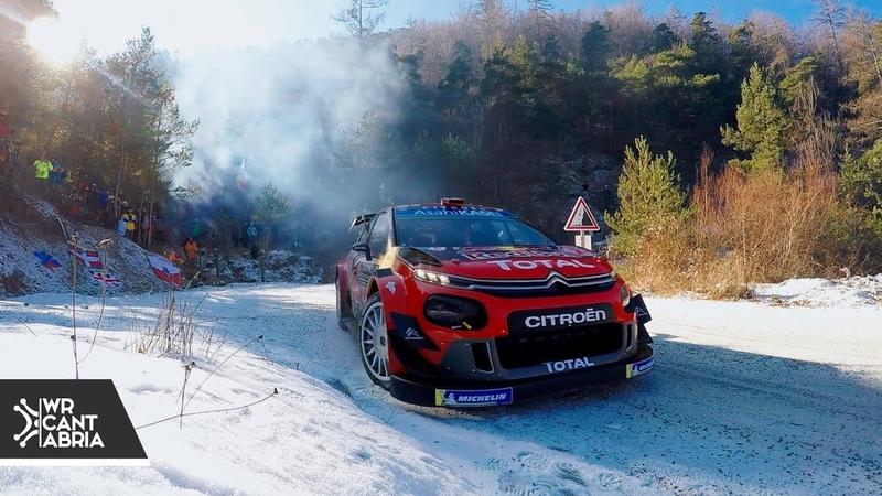 WRC Rally de Montecarlo 2019 Flat Out Action @WRCantabria