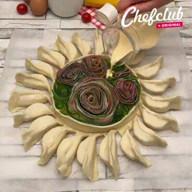 id_49731 Отрывной пирог с сыром 😋  Автор: Chef Club  #gif@bon