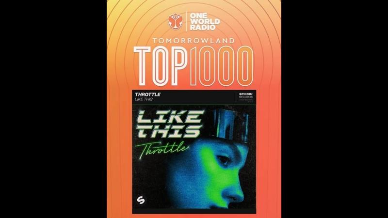 Like This on Tomorrowland Top 1000 Throttle DirtyDisco Tomorrowland Mesto SpinninRecords